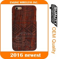 hard case,2016 wood mobile smartphone logs case for iphone 5