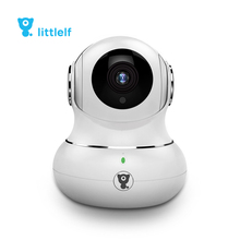 littlelf Two Way Audio Security sureillance HD 1080P Panoramic 360 Degree cctv ip camera