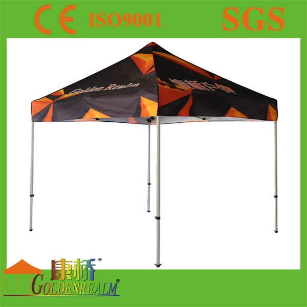 Durable Aluminum Frame Full Color 10x10 Ez Up Canopy , Instant Canopy Tent for Event Tent