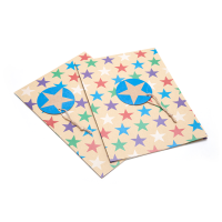XINYA Zhejiang Wenzhou Wrapping Paper Custom Made Colorful Star Gift Box Packaging Paper