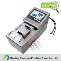 Touch screen control Flow Injection Analyzer pump with servo motor