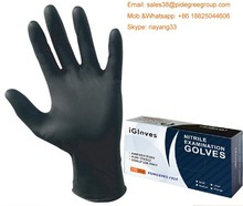 Blue Nitrile Disposable Powder Free Food Industrial Work meidical Gloves nitrile