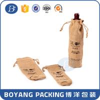 single wine jute bags for packing