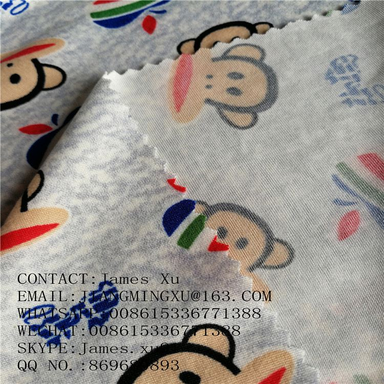 95% polyester 5% spandex compression garment fabric velvet fleece fabric for winter wear