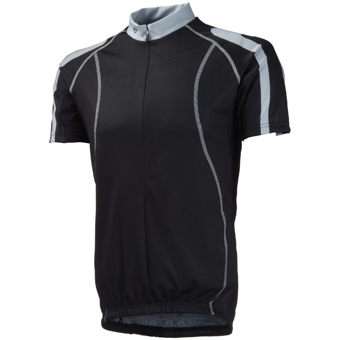 Mens sports garment cycling shirt with silica gel in bottom