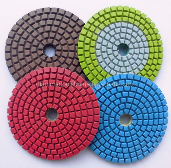 Durble and Smooth factory price dry/wet diamond hand polishing pads