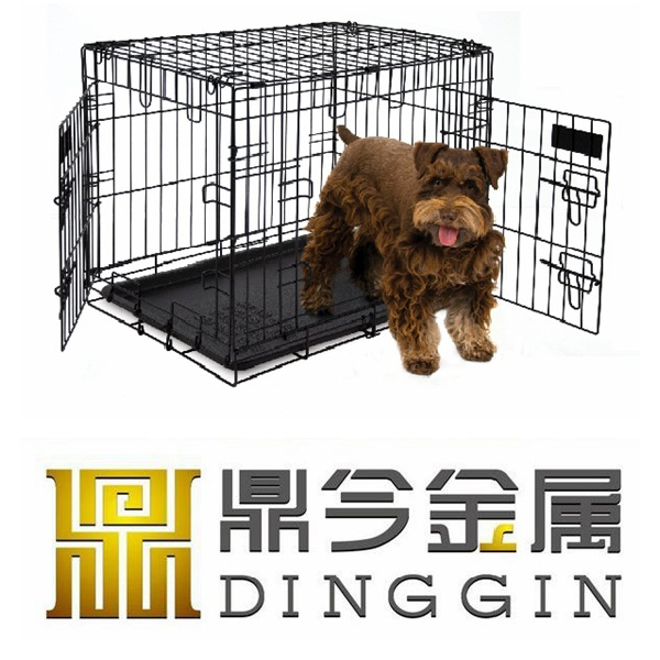 Outdoor metal portable dog cage