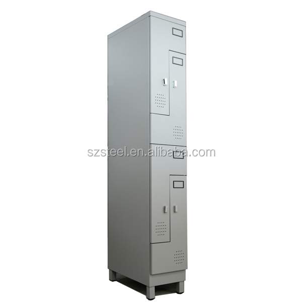 Professional key lockers/ step lockers/ L shaped storage locker with high quality powder coated