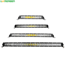Wholesale New Single Row 5W Slim 4D Flood Spot Led Light Bar For Trucks Atvs Auto Parts Accessories