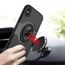 fashion stylish TPU+PC 2 in 1 cell phone case ,mobile phone accessories ,ring phone holder for iphone x