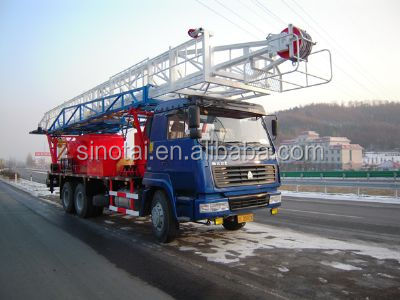 Swabbing Service and workover Rig( multifunctional) for Oilfield