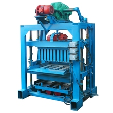 best sell fly ash brick machine in Tanzania QTJ4-40II small business investment