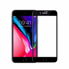 Factory supply Anti-Static phone screen protector mobile tempered glass for iphone 8 / 8 plus