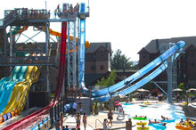 New Arrvail Hill Water Slide Aqua Loop Manufacturers in China