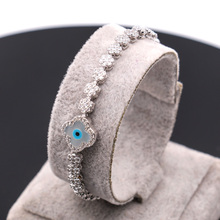 NYHB53 925 sterling silver Jewelry New Fashion Stone Bracelets For Women