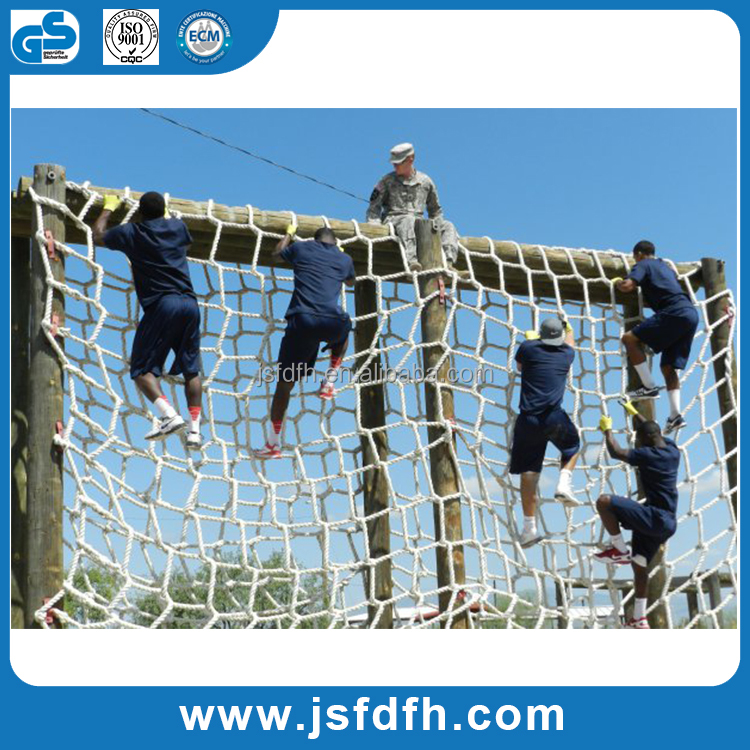 2016 Hot selling obstacle course cargo climbing nets