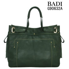 2013 deep green latest design popular leather handbags mexican bags