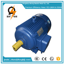 55kw 75hp ac three phase agriculture machinery induction electric motor