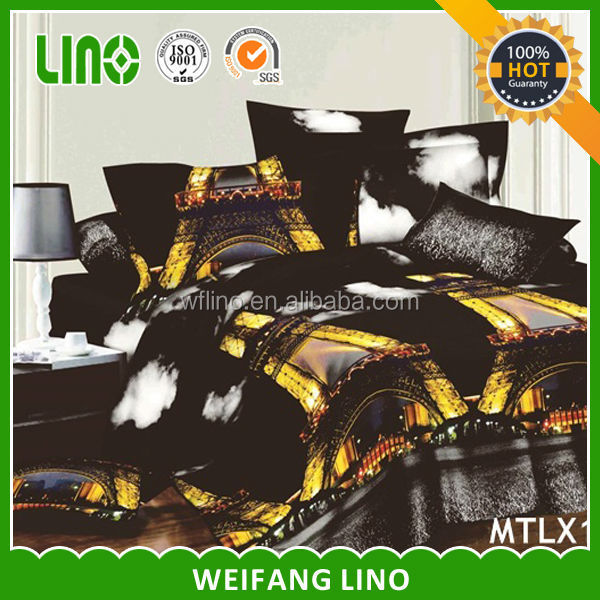 100% polyester cheap duvet cover sets/3d duvet set/wholesale bedding set