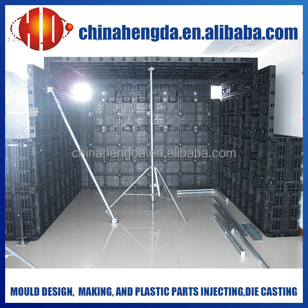 plastic formwork for column concrete, concrete column formwork, adjustable column formwork
