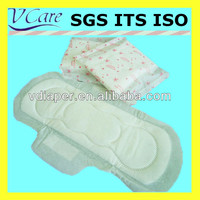 soft 300mm whisper pad disposable sanitary napkin