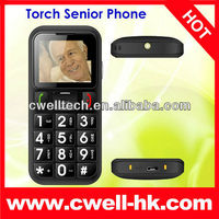 Senior Mobile Phone with Cradle, Torch, FM Radio and Dual SIM Card Slot