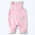 Cotton infant clothing onesie sleeveless baby girls clothes baby knit romper