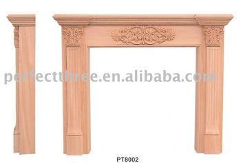 PT8002 Classic Fireplace Mantel