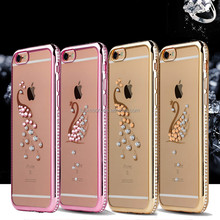 Rhinestone Case For iPhone 7 / 7 Plus lowest price gigaset Glitter Diamond Transparent Cover