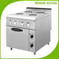 4 Head Electric Hot Plate Cooker With Oven Restaurant Kitchen Equipment BN900-E810A