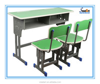 Colorful design wooden children study table student table