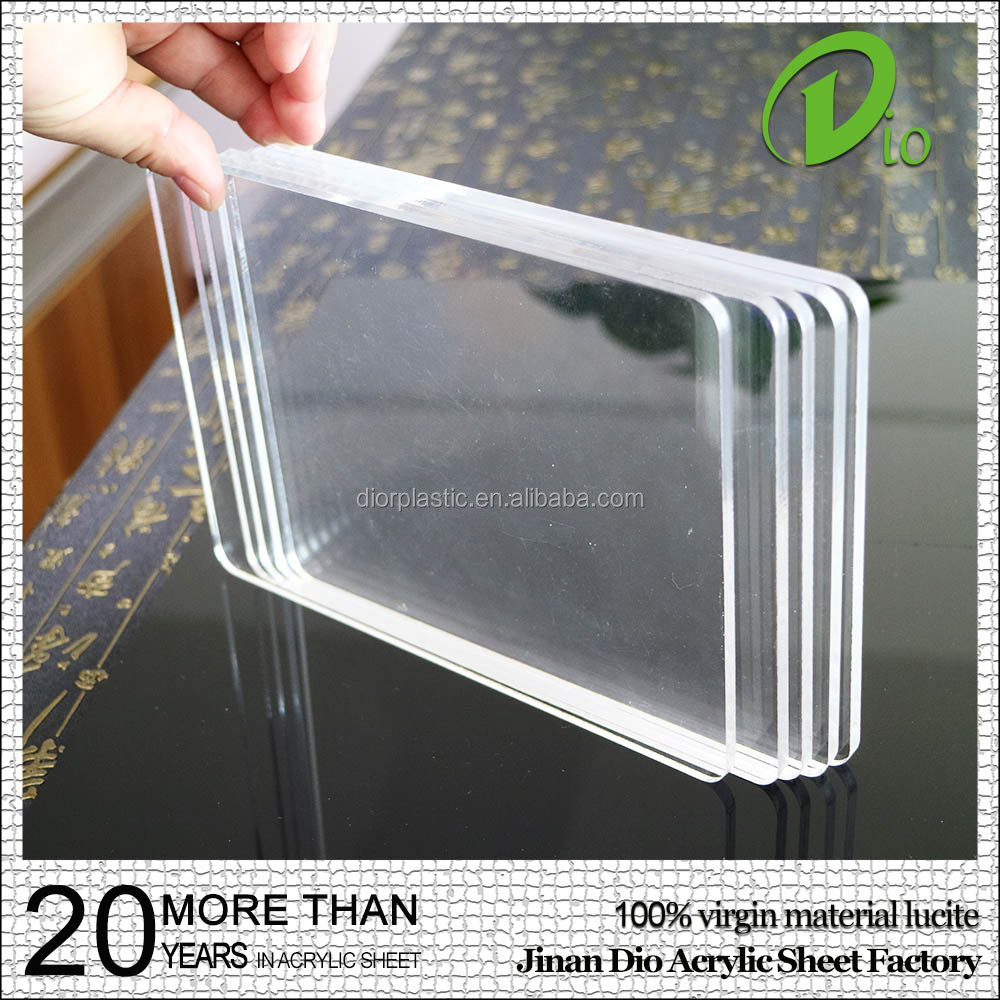 high gloss scratch resistant 3mm 5mm heat resistant plastic acrylic sheet
