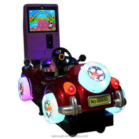 2014 hot sale unblocked games kiddie ride for 3D car kids mini electric motorcycle
