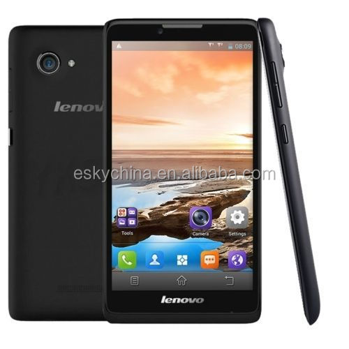 Lenovo A889 Quad Core MTK6582 Android 4.2 Mobile Phone 6.0 inch 1GB RAM 8GB ROM 8MP Camera Dual Sim Card 3G Cell Phone