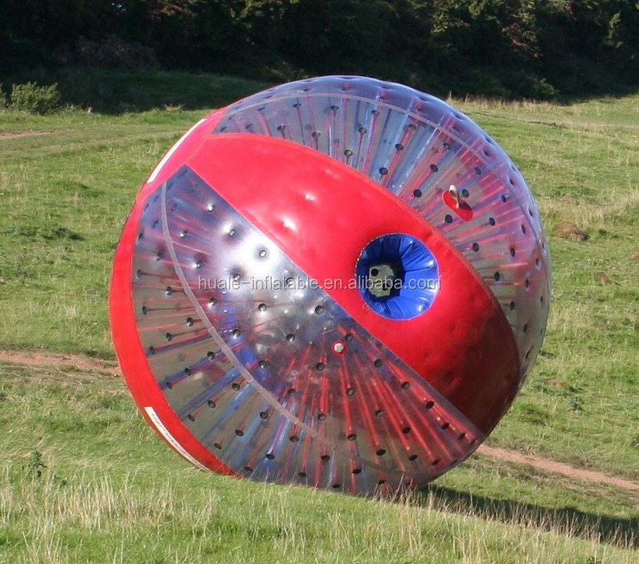 Inflatable bumper body zorb balls for sale for water and grass ground