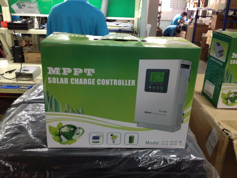 24V 48V 40A 50A 60A Battery Charger Mppt Charge Solar Controller