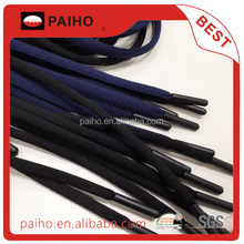 Customized ABS aglet oval polyester shoelace