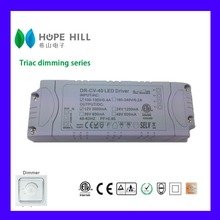 Constant Voltage 24V 40W Triac dimmable LED driver