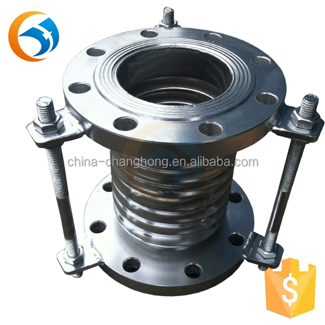 flexible metallic metal escapement expansion joints in building