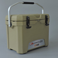 New rotomolded picnic locking cooler box