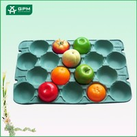 Beautiful environmental apple tray 3 tier decorate fruit tray