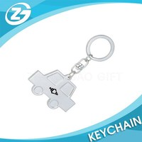 Hot Selling Customized Promotion Metal Car Keyring