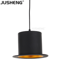 2017 European style Black Pendant lights Drop Lighting For Dining Room