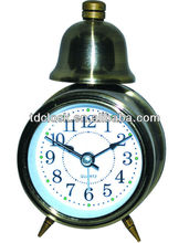 Promotion metal single bell antique clock