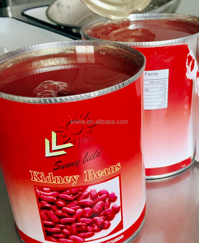 Beans Red Kidney Organic (canned) 400g 400 gram x 24 tin usd6.2 each Carton