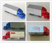 3D promotion truck pvc usb flash drive 4GB