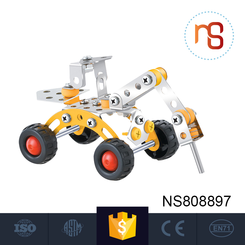 Durable using low price 3d excavator eco building blocks for sale