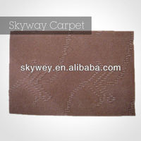 Cheap nonwoven camel colour carpet hot sale