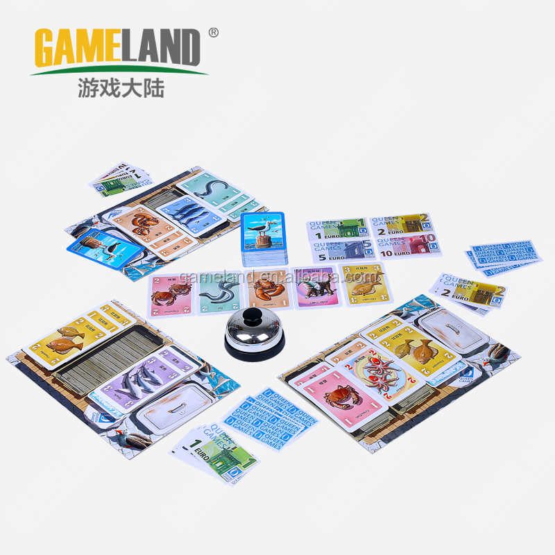 Unique Card Games Customized BoardGame Game Cards