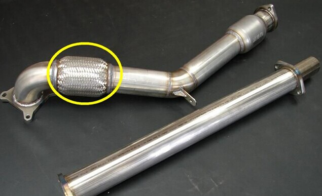2.5inch stainless steel 304 truck flexible exhaust pipe